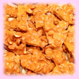 Delicious Home Made Peanut Brittle